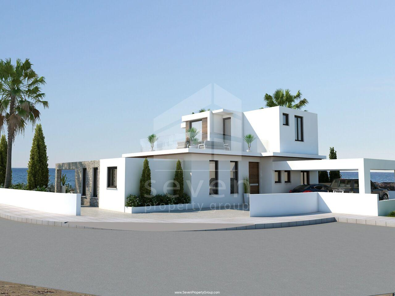 4&6BED BEACH FRONT HOUSES FOR SALE IN Ayia Thekla
