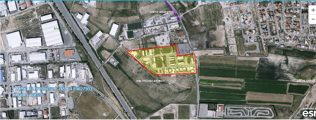WAREHOUSE FOR SALE IN LARNACA