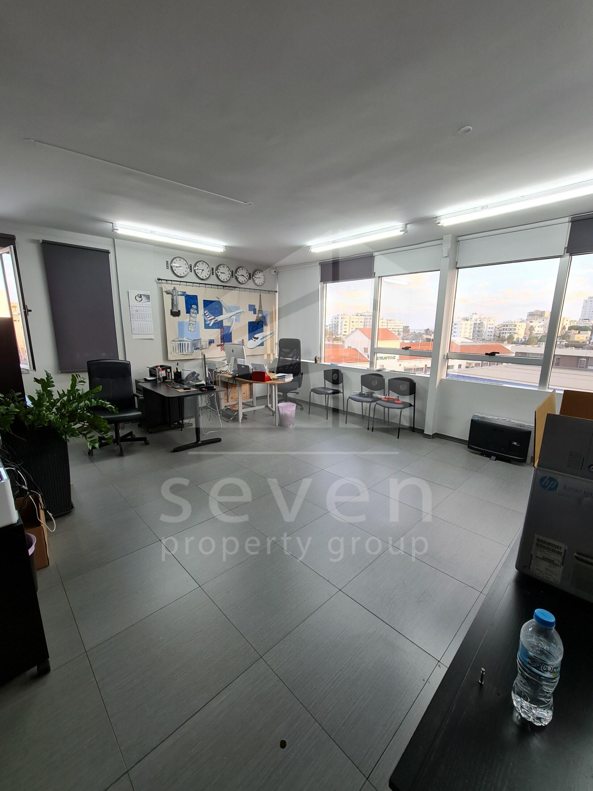 OFFICE FOR RENT IN LARNACA CENTER