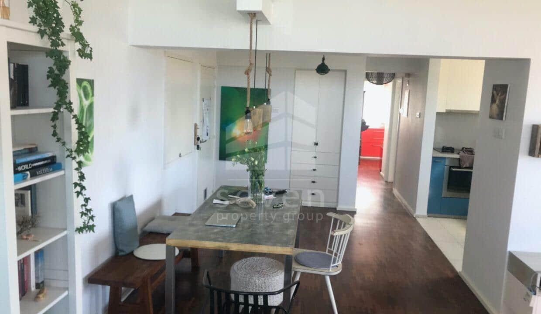 living room-dining