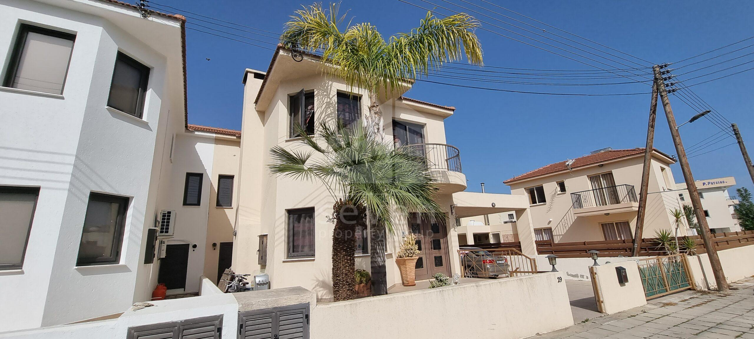 3 BED + ATTIC HOUSE FOR SALE IN LIVADIA